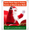 Thumbnail image for Santa Photo Opps and Other Holiday Events At 8 Atlanta Area Malls This Holiday Season!