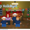 Thumbnail image for Make Your Own LEGO Minifigure Family Cards This Season!