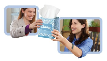 Kleenex Softness Worth Sharing program