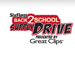 Six Flags back to school donation - 50% off admission!