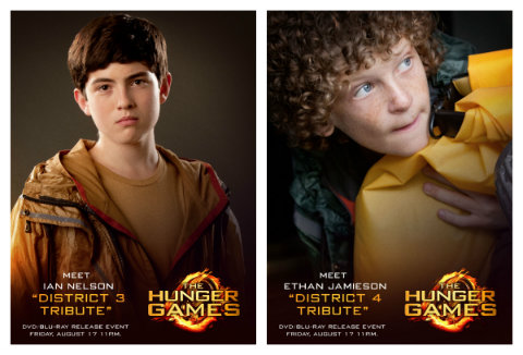 what does district 3 do in the hunger games