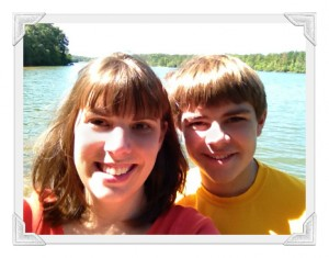 Alicia and Sebastian at Sweetwater Creek State Park