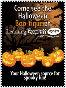 Learning Express Halloween Boo-tique