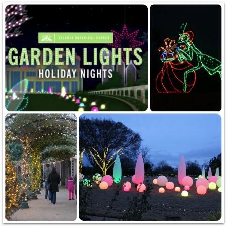 botanicalcollage - Atlanta Botanical Gardens Light Show Promo Code