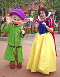 Snow White at Disney World