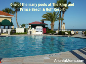 The King and Prince Beach & Golf Resort pool