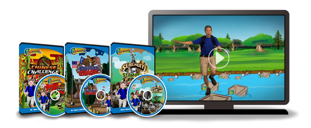 Adventure to Fitness DVD and online fitness for kids