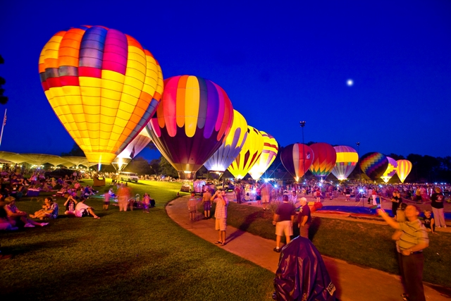sky high hot air balloon festival at callaway gardens aug 30th sep 2nd atlanta moms