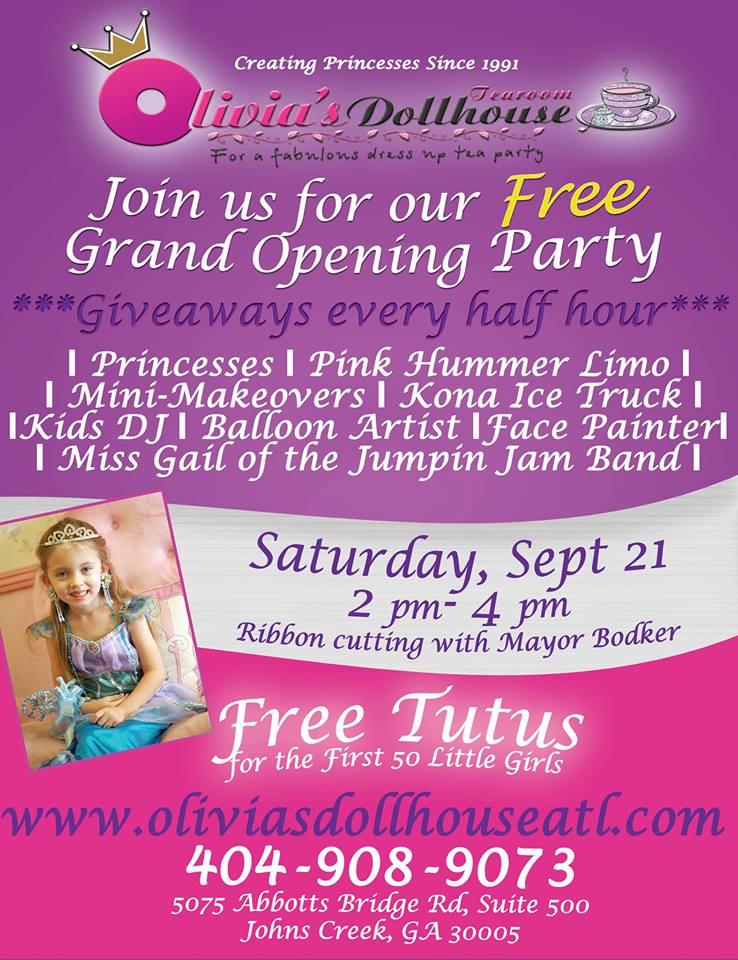 Olivia S Dollhouse Tea Room Princess Party