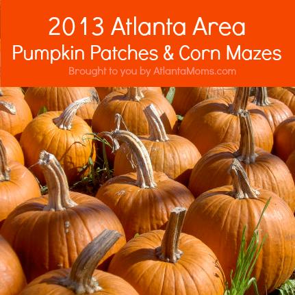 2013 Atlanta Georgia Pumpkin Patches and Corn Mazes